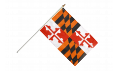 Stockflagge USA Maryland - 30 x 45 cm