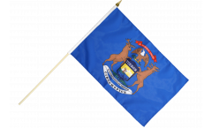 Stockflagge USA Michigan - 30 x 45 cm