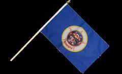 Stockflagge USA Minnesota - 30 x 45 cm