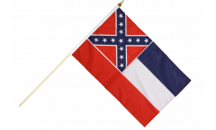 Stockflagge USA Mississippi - 30 x 45 cm