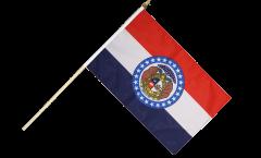 Stockflagge USA Missouri - 30 x 45 cm