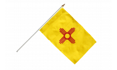 Stockflagge USA New Mexico - 30 x 45 cm