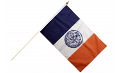 Stockflagge USA New York CITY - 30 x 45 cm