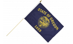 Stockflagge USA Oregon - 30 x 45 cm