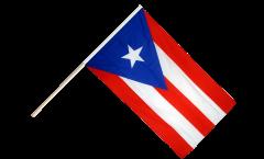Stockflagge USA Puerto Rico - 60 x 90 cm