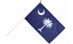 Stockflagge USA South Carolina - 30 x 45 cm