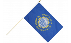 Stockflagge USA South Dakota - 30 x 45 cm