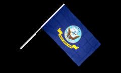Stockflagge USA US Navy - 60 x 90 cm