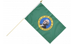 Stockflagge USA Washington - 30 x 45 cm