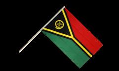 Stockflagge Vanuatu - 60 x 90 cm