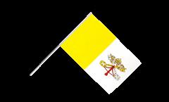 Stockflagge Vatikan - 60 x 90 cm