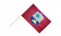 Stockflagge West Indies - 60 x 90 cm