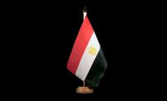 Tischflagge Ägypten - 10 x 15 cm