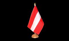 Tischflagge Österreich - 10 x 15 cm