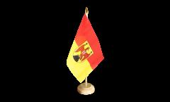 Tischflagge Österreich Burgenland - 10 x 15 cm