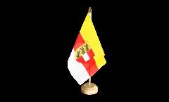 Tischflagge Österreich Kärnten - 10 x 15 cm