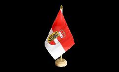 Tischflagge Österreich Salzburg - 10 x 15 cm