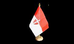 Tischflagge Österreich Wien - 10 x 15 cm