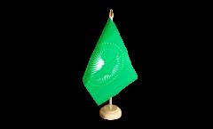 Tischflagge Afrikanische Union AU - 15 x 22 cm