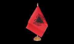 Tischflagge Albanien - 10 x 15 cm