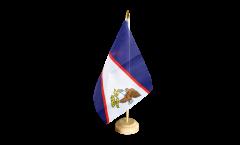 Tischflagge Amerikanisch Samoa - 15 x 22 cm