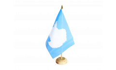 Tischflagge Antarktis
