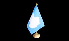 Tischflagge Antarktis - 15 x 22 cm