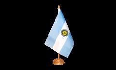 Tischflagge Argentinien - 10 x 15 cm