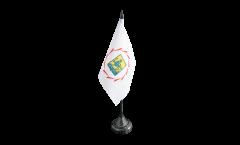 Tischflagge Armenien Jerewan Eriwan - 10 x 15 cm