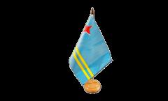 Tischflagge Aruba - 15 x 22 cm