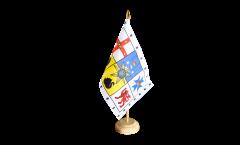 Tischflagge Australien Royal Standard - 15 x 22 cm