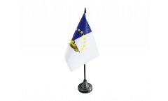 Tischflagge Azoren