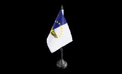Tischflagge Azoren - 10 x 15 cm