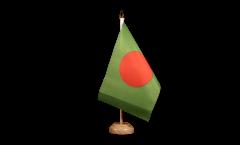 Tischflagge Bangladesch - 15 x 22 cm