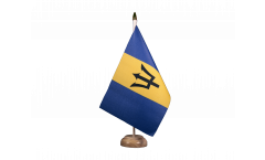 Tischflagge Barbados - 15 x 22 cm