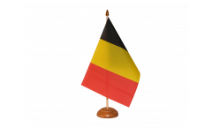 Tischflagge Belgien - 10 x 15 cm