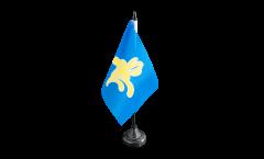 Tischflagge Belgien Hauptstadtregion Brüssel - 10 x 15 cm