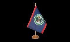 Tischflagge Belize - 15 x 22 cm