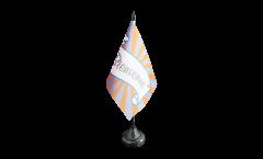 Tischflagge Bienvenue - 10 x 15 cm