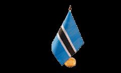 Tischflagge Botswana - 15 x 22 cm