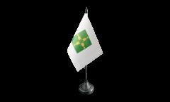 Tischflagge Brasilien Brasilia - 10 x 15 cm