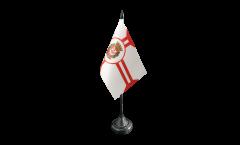 Tischflagge Brasilien Sao Paulo