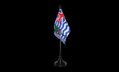 Tischflagge Britisches Territorium im Indischen Ozean - 10 x 15 cm