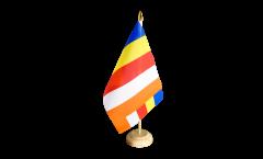 Tischflagge Buddhismus - 15 x 22 cm
