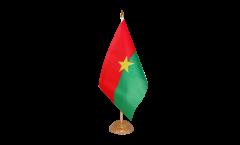Tischflagge Burkina Faso - 15 x 22 cm