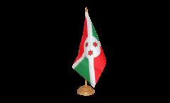 Tischflagge Burundi - 15 x 22 cm