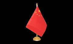 Tischflagge China - 15 x 22 cm