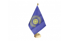 Tischflagge Commonwealth neu - 15 x 22 cm