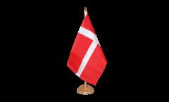 Tischflagge Dänemark - 15 x 22 cm