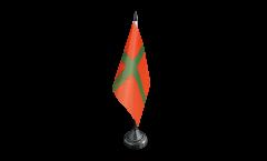 Tischflagge Dänemark Bornholm Touristenflagge - 10 x 15 cm